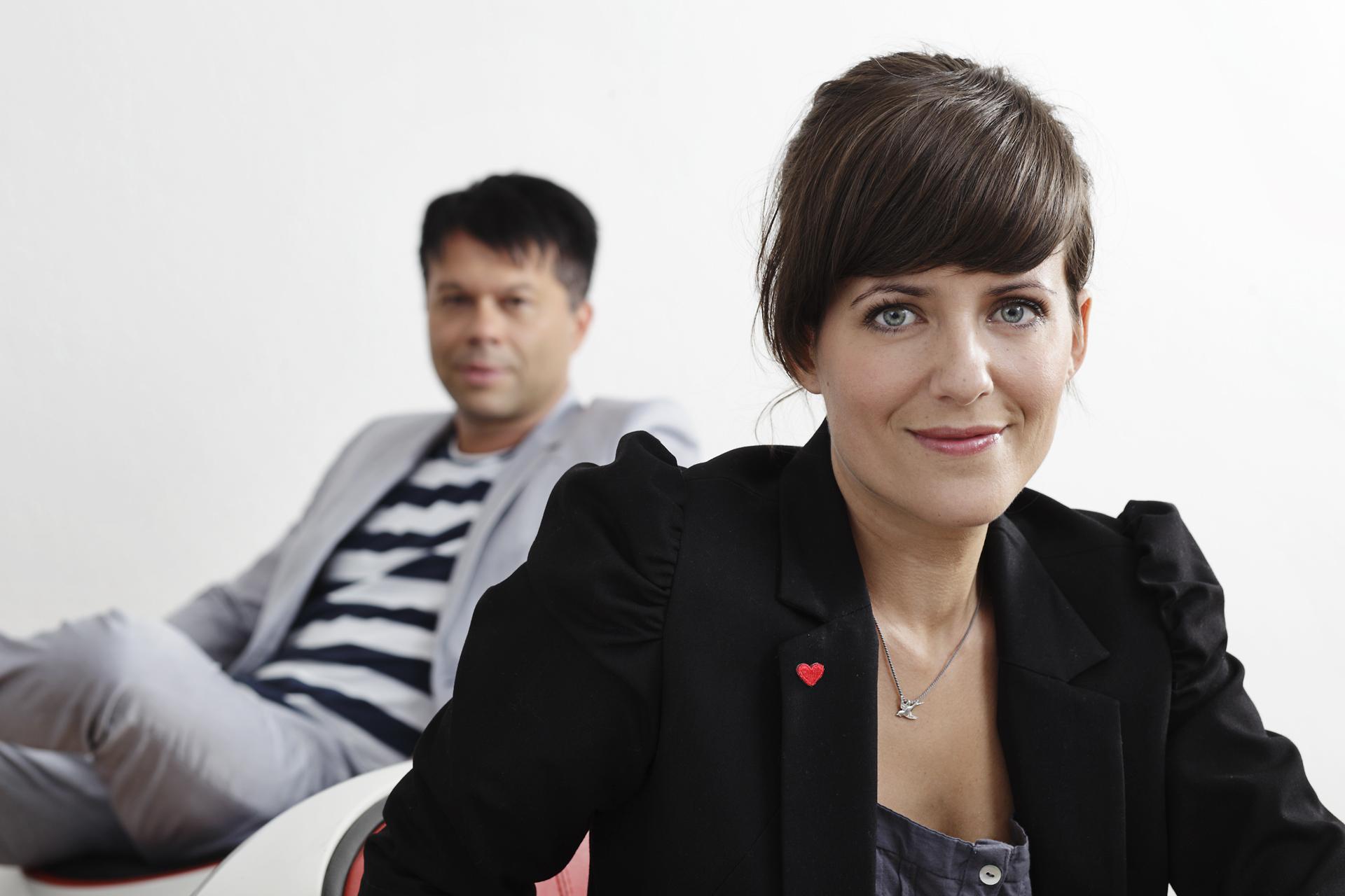 Frau Kuttner und Herr Kavka - Portrait