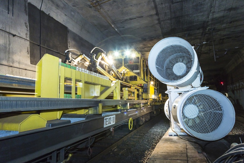 S-Bahnbaustelle - Reportage